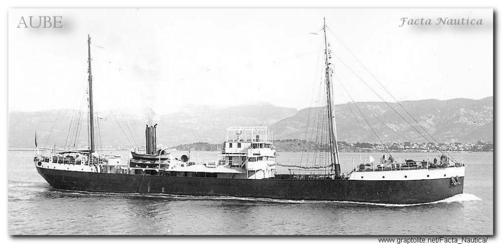 The French tanker AUBE.