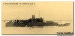 Facta Nautica: The French gunboat BRUTALE. Canonniere BRUTALE.