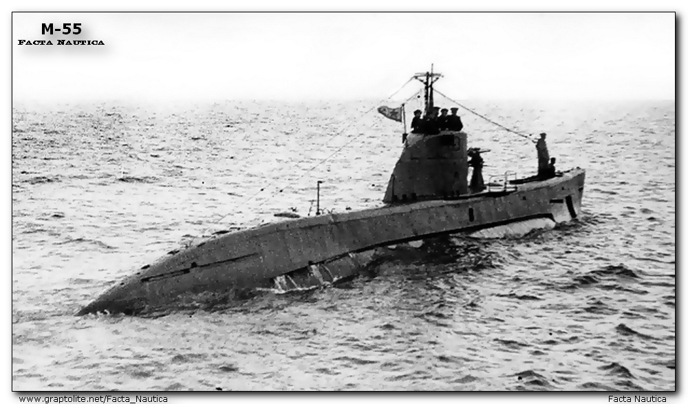 Soviet submarine Malyutka M-55 black sea