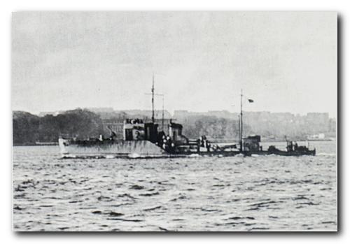 The German torpedo recovery vessel TFA 9.
